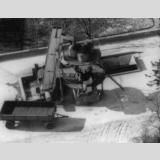 Landwirtschaftsgeräte  Aktiv /Kartoffeldämpfer 1956 Luftbild Ratzeburg