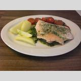 Fisch auf Gemüsebett /Fisch auf Gemüsebett 2