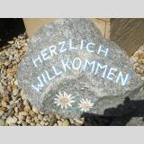 Steinig /Herzlich Willkommen