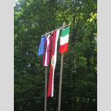 Fahnen der Welt /Italienisches Dorffest