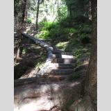 Auf- und Absteigen /Kurvige Treppe