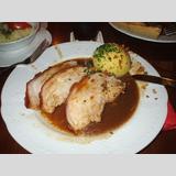 Fleischgelüste /Schweinebraten und Kloß