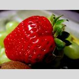 Gesundes /Die Erdbeere