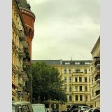 Altbauten /Strasse in Berlin-Kreuzberg
