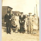 Gretchens Amerikareise /Gruppenfoto 1930