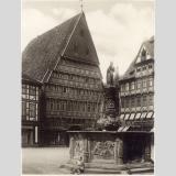Hildesheim /Rolandsbrunnen