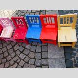 Nützliches und Schönes /Stühle im Urlaub