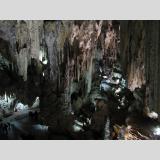 Stein-Art /In Höhle von Nerja