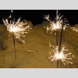 Neues Jahr /Wunderkerzen