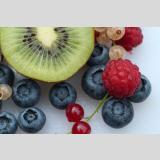 Früchte und Obst /Bunte Vitamine