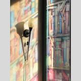 Beleuchtung /Im Schatten der Bücher