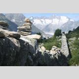 Große Steine /Stein über Stein (Alpen; Schweiz)