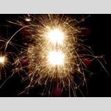Jahreswechsel /Wunderkerzen-Feuerwerk