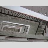 Auf- und Absteigen /Treppen im Koloss von Prora