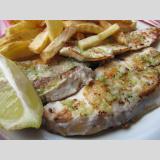 Seafood /gebratener Fisch