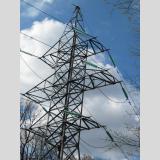 Energie tanken /Strommast