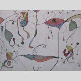 Graffiti /buntes Gesicht