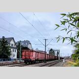 Bahn /Bahngleise durch Hennef / 02