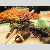 Seafood /Schalentiere auf dem Markt