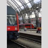 Bahnhof /Vater und Sohn