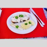 belegtes Brot - Restauration /Brot mit Dekoration