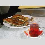 Gebäck Int. /Serpme Börek mit Tee