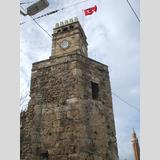 Türkei /Uhrturm in Antalya