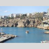 Türkei /Hafen von Antalya mit Ausflugsboot
